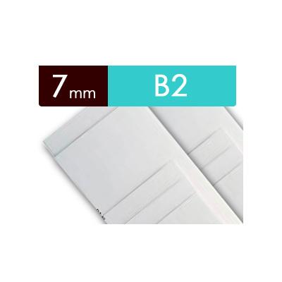 紙貼りパネル【7mm厚】 - B2判 (20枚1組)