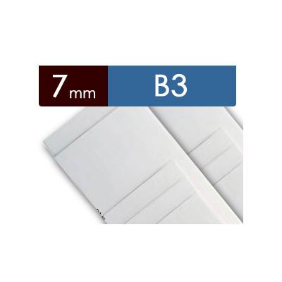 紙貼りパネル【7mm厚】 - B3判 (40枚1組)