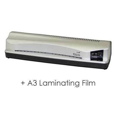 【お買い得セット】 ラミネーター&フィルムセット フジプラ LPD3223 CLIVIA A3対応 と A3ラミネートフィルム100μ 100枚セット