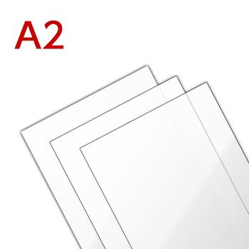 ラミネートフィルム A2サイズ (430×604mm) 100ミクロン 光沢タイプ(1箱100枚入り)