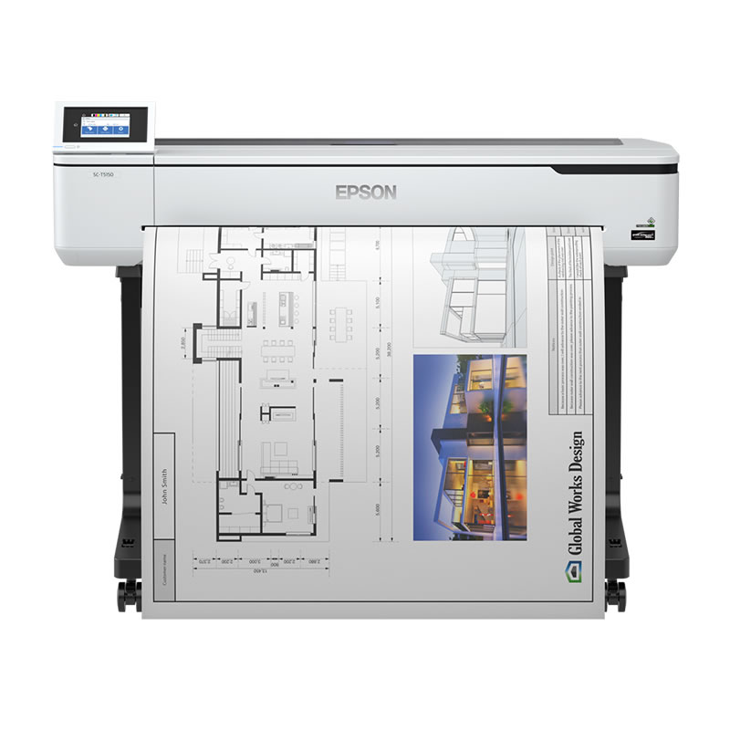 エプソン EPSON 大判プリンター SC-T5150 大判インクジェットプリンター A0大判プリンター ポスター POP CAD プロッター 水性インク大判プリンター