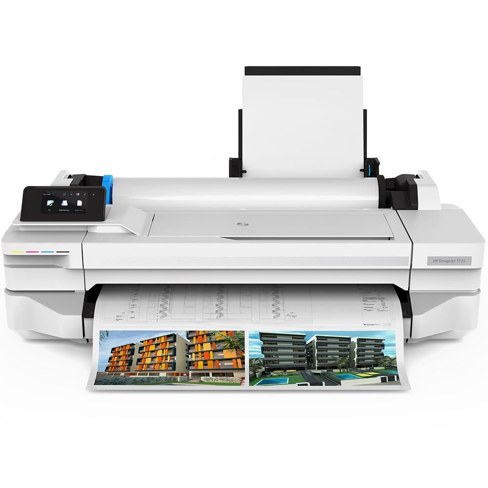 HP DesignJet T125 A1モデル 24-in HP インクジェットプリンター 大判プリンター デスクトップモデルヒューレット・パッカード社 5ZY57A0-AAAA CADプリンター HP T125 プロッター 【HPキャッシュバックキャンペーン対象外】