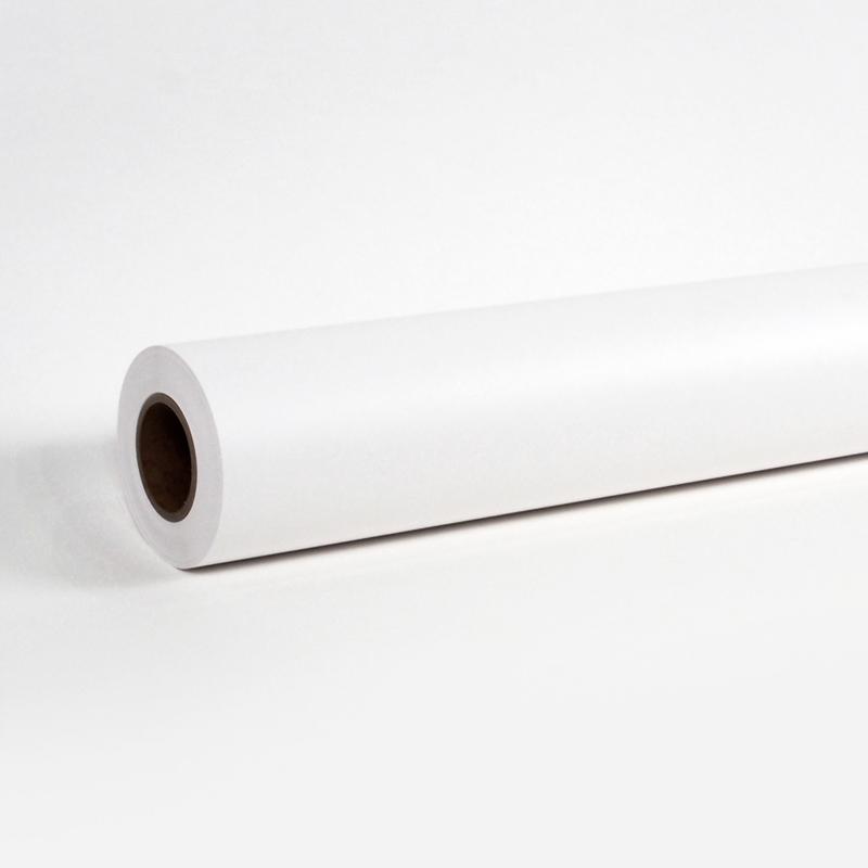溶剤対応マット合成紙(糊なし)1370mm×50M