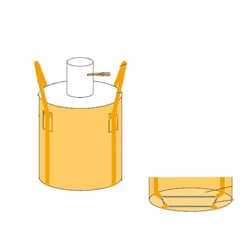 【ご予約品】 フレコンバッグ 丸型 フレキシブルコンテナバッグ 直径1100×1100mm Cタイプ 投入口/小口 (100枚入り) 耐荷重1t トンバッグ 丸型 直径1100×1100mm 大型土のう袋 トンバッグ, ハーブティー&アロマ専門店ユーン:9f44d6ec --- mahayogastudio.com