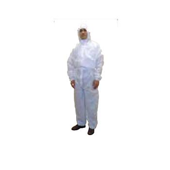 不織布作業服 カバーオール SMS素材 サイズEL(30着)・保護服・ツナギ服
