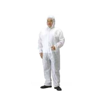 不織布作業服 ガードオール SPP素材 サイズEL(40着)・保護服・ツナギ服