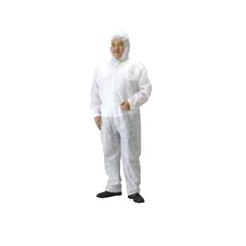不織布作業服 ガードオール SPP素材 サイズL(40着)・保護服・ツナギ服