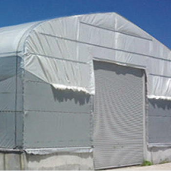 遮熱シート 2.7×2.7m(10枚)・ビニールハウス・作業場の屋根用