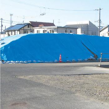 国産ターピーシート #3000 10×10m(2枚)・厚み約0.25mmのスタンダードなブルーシート
