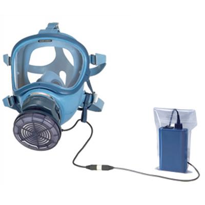 アスベスト対策呼吸用 電動ファン付きマスク BL-700HA-02 (1個)