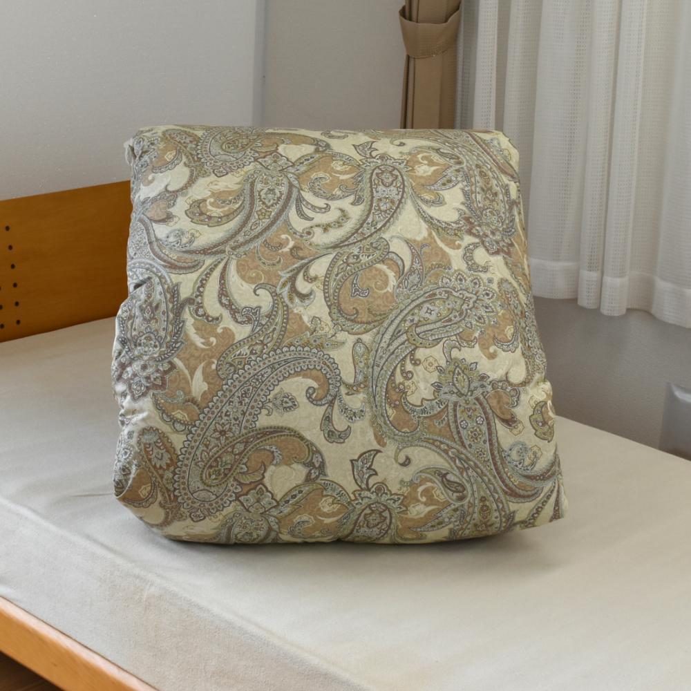 送料無料 西川リビング 2層式羽毛掛布団ダブルロング 掛布団 ハンガリー産シルバーグース90%使用 DP390以上 日本製 収納袋付き