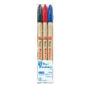登場大人気アイテム 事務用に 卓越 宛名書きに イラストに 色鉛筆代わりに 寺西化学 ?マーク 5セットまでメール便可 3色セット マジック 細字用 水性インク ラッションペン