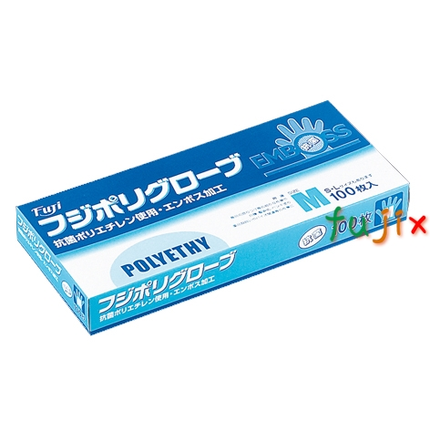 フジ ポリグローブ抗菌 M(100枚×30箱)/ケース