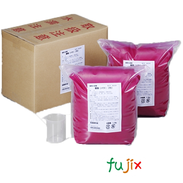 業務用 入浴剤「薔薇(ローズ)」15kg (7.5kg×2)×1本/ケース フェニックス