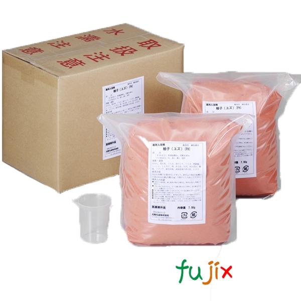 業務用 入浴剤「ユズ」15kg (7.5kg×2)×1本/ケース フェニックス