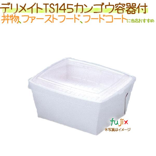 デリメイト TS145 カンゴウ容器付き 無地 300枚/ケース