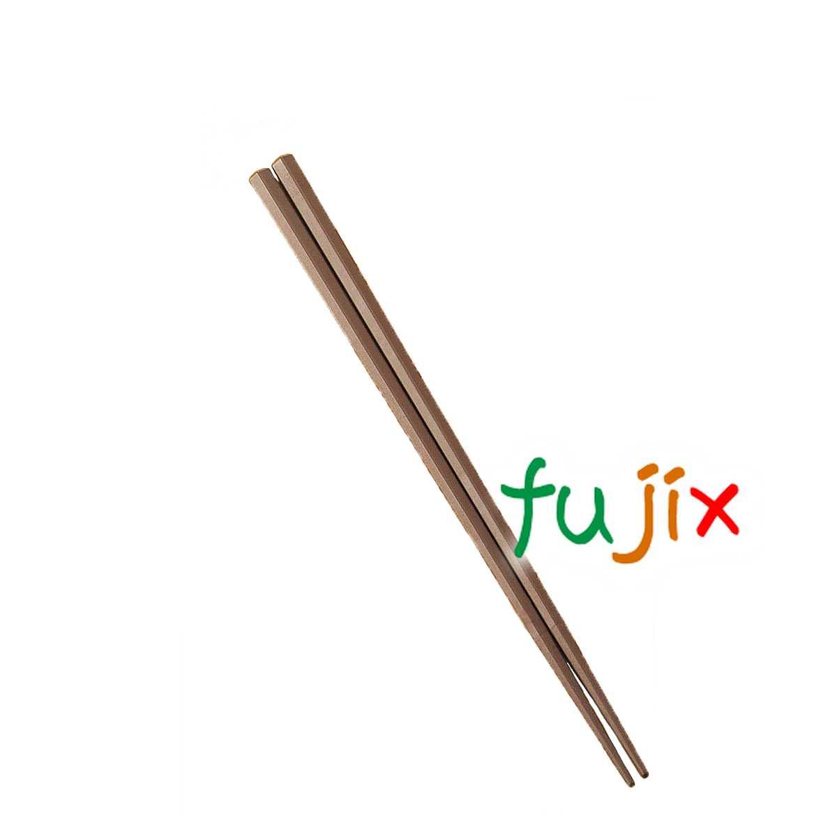 SPS箸 六角 茶 22.5cm 1000膳 C10-962