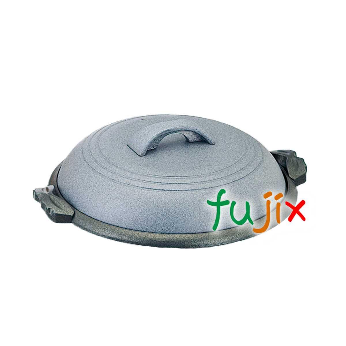 関脇陶板 素焼き茶 1個 M10-543 アルミ合金製 フッ素3コート