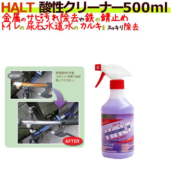 HALT ハルト 酸性クリーナー 500ml ×24本/ケース