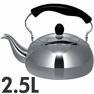 COOKVESSEL 厨师容器不锈钢水壶阿雅 2.5 L IH