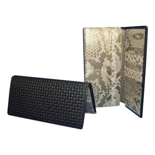 【送料無料】BM-401 ブロックメッシュ&薄金蛇長財布【代引不可】