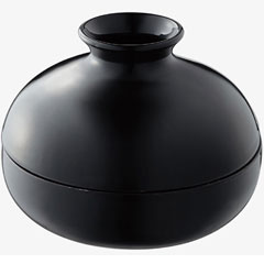 [P]拿山崎実業蚊遣器(干,来)蚊子暖水瓶黑色BK07917