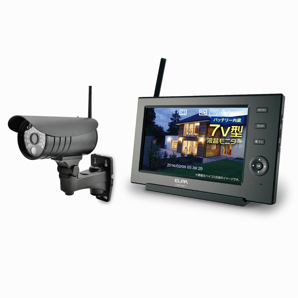 ELPA 采用数字方式监控设置的 CMS 7110