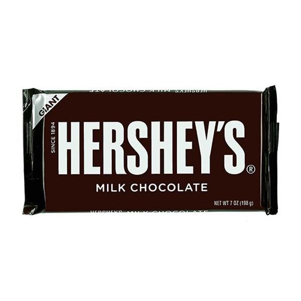 260-301 ハーシーチョコレート チョコレートバー ジャイアントミルクチョコレート (198g×12)×2【代引不可】【北海道・沖縄・離島配送不可】