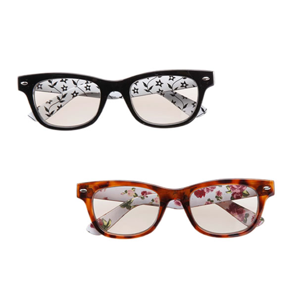 Melanin ITA glasses Wellington black
