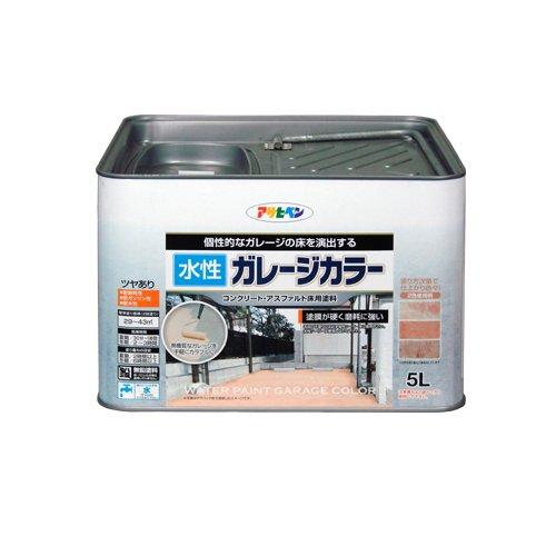 アサヒペン 水性ガレージカラー テラコッタ 5L【北海道・沖縄・離島配送不可】