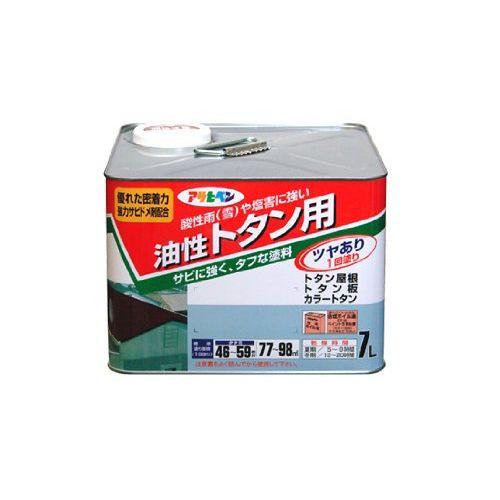 アサヒペン 油性トタン用 7L クリーム色