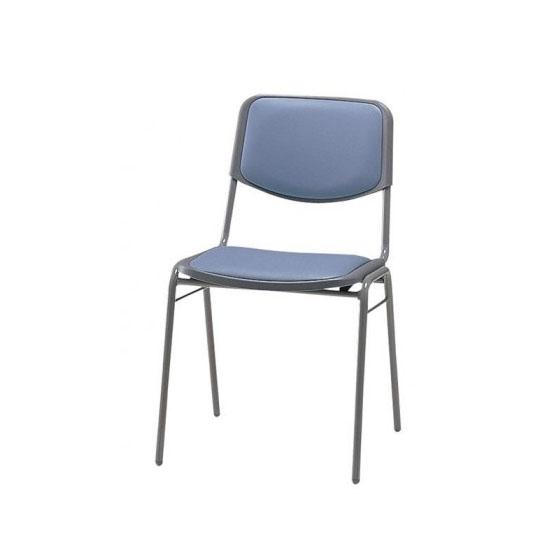 【送料無料】食堂用椅子 CD80-MX (4脚セット) ブルー