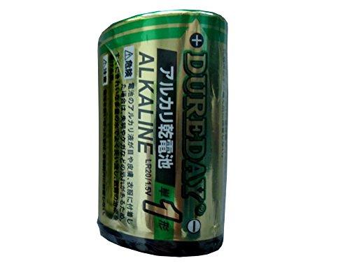 アルカリ単1形 LR20 乾電池1本パック〔まとめ買い1本×200セット合計200本〕【北海道・沖縄・離島配送不可】