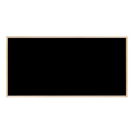 【送料無料】馬印 木枠ボード ブラックボード 1800×900mm WOEB36【代引不可】