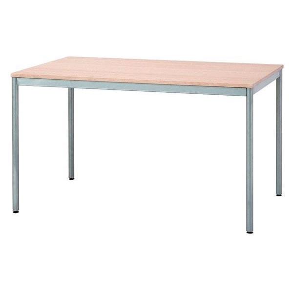 【送料無料】ユニットテーブル1200×750 HEM-1275 W(ホワイト)【代引不可】