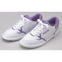 ABS American Bowling service Bowling shoes S-285 ladies white-purple 23.0 cm