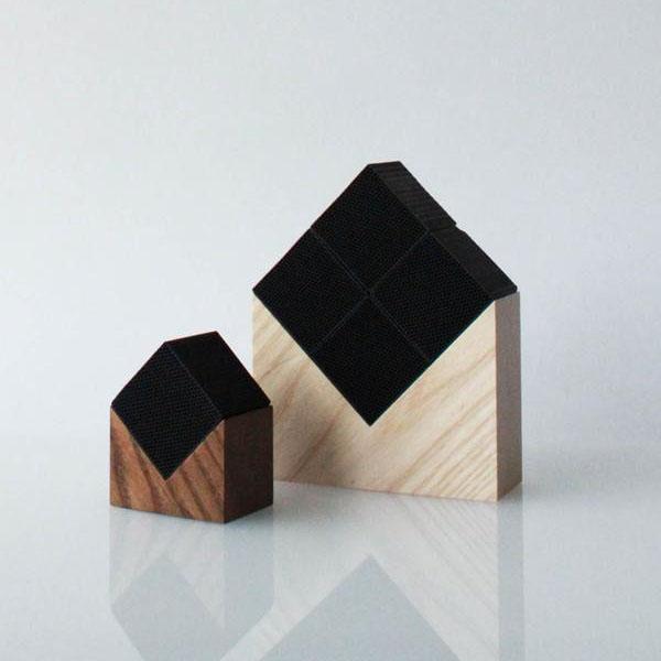 【送料無料】CHIKUNO CUBE(チクノキューブ) HOUSE(大) 自然の空気清浄 ブラウン・CUB-H4BR【代引不可】