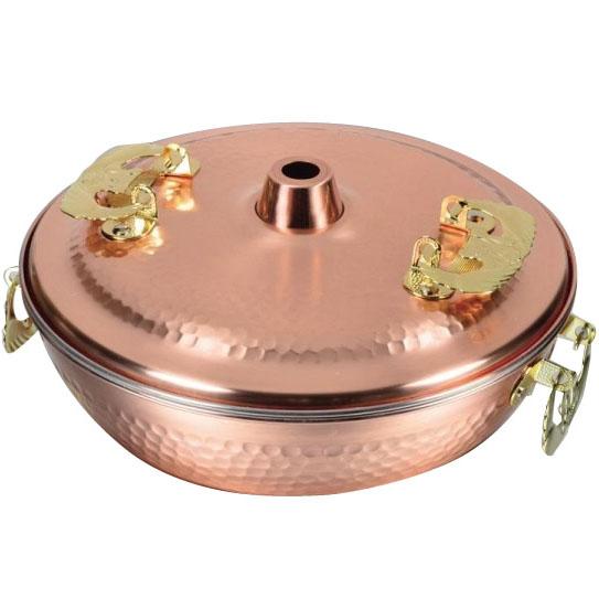 【送料無料】パール金属 HB-1790 メイドインジャパン 純銅製しゃぶしゃぶ鍋26cm【代引不可】