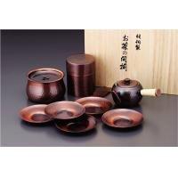 【送料無料】アサヒ 急須・茶筒・建水・茶托セット CB-525