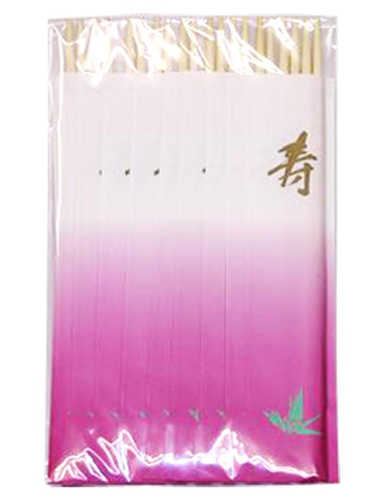 【送料無料】祝箸 ツル 10膳 〔まとめ買い200個セット〕 MS-274 【代引不可】
