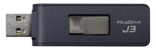 【送料無料】GREEN HOUSE(グリーンハウス) USB3.0メモリー ピコドライブJ3 128GB GH-UFD3-128GJ