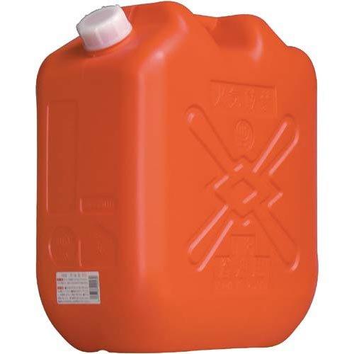 北陸土井 灯油缶18L JISマーク付 レッド〔まとめ買い36缶セット〕 【代引不可】【北海道・沖縄・離島配送不可】