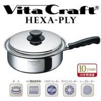 正规进口 10 年保修 VitaCraft 六层 (Vita Craft 六角扮演) 一只手潘 2.9 L 6115