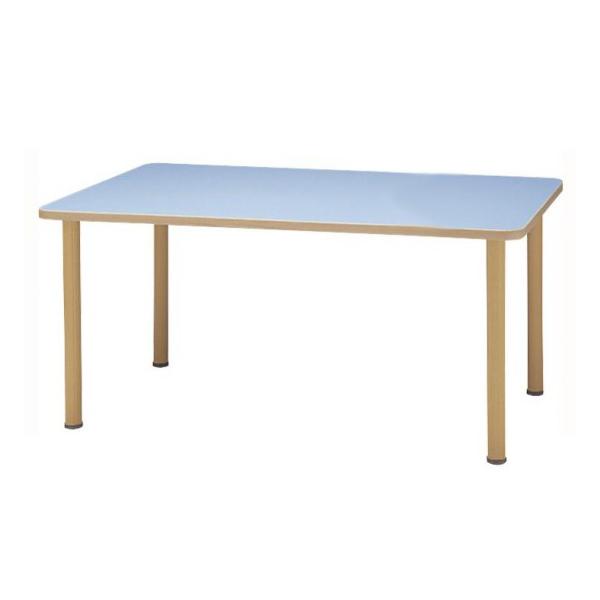 【送料無料】サンケイ 長方形テーブル(H700~750mm) TCA690-ZW ローズ【代引不可】