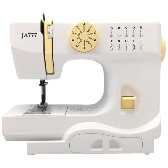 JANOMEジャノメ製ミシン コンパクト電動ミシン JA777【代引不可】