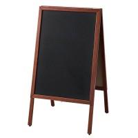【送料無料】木製枠スタンドポスターパネル マーカー・チョーク兼用モデル 58259***【代引不可】
