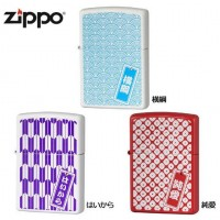 ZIPPO(ジッポー) ライター 和紋様シリーズ 純愛・63390398【代引不可】