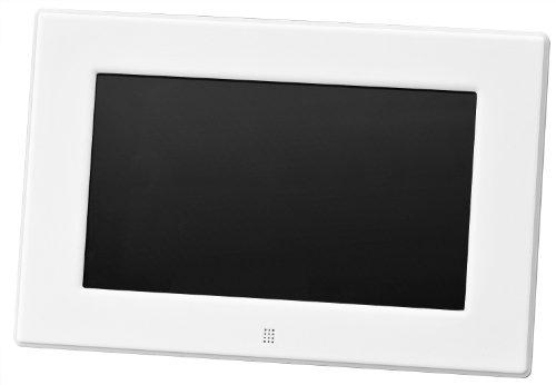 グリーンハウス 低消費電力設計の7型ワイド液晶 デジタルフォトフレーム 高精細(800×480Pixel)ホワイト GH-DF7X-WH