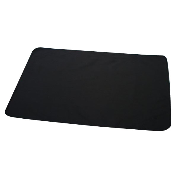 ペット用品 ディスメルdeニット やわらかマルチカバー(防水加工・消臭カバー) 150×150cm ブラック OK196