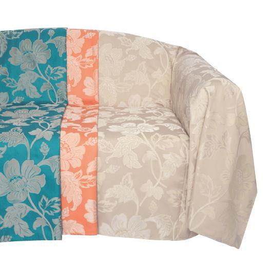 【送料無料】川島織物セルコン selegrance(セレグランス) フルール マルチカバー 195×295cm HV1403S BE・ベージュ【代引不可】